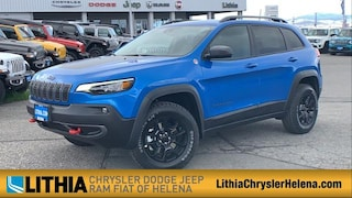 New 2021 Jeep Cherokee TRAILHAWK 4X4 Sport Utility Helena, MT