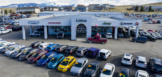 Bozeman Car Dealerships >> About Lithia Chrysler Dodge Jeep Ram Fiat Of Helena New Used Car