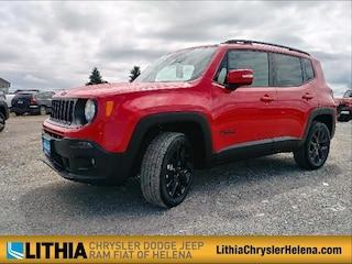 New 2018 Jeep Renegade ALTITUDE 4X4 Sport Utility Helena, MT