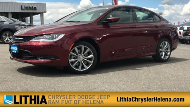 Used 2016 Chrysler 200 S Sedan Helena, MT