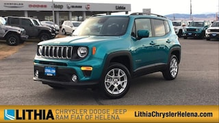 New 2021 Jeep Renegade LATITUDE 4X4 Sport Utility For Sale in Helena, MT