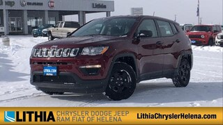 New 2021 Jeep Compass SPORT FWD Sport Utility Helena, MT