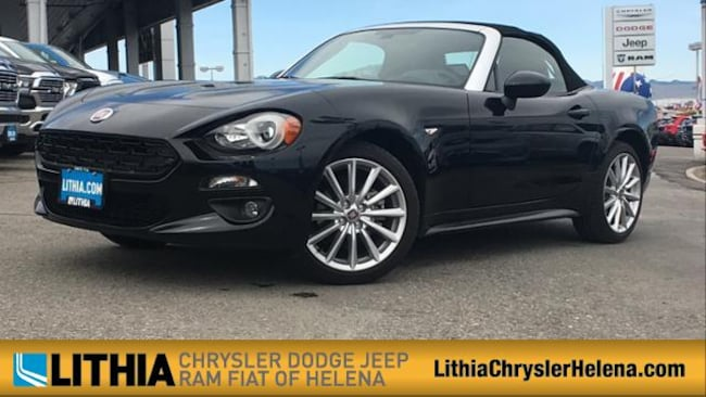 New 2017 FIAT 124 Spider LUSSO Convertible Helena, MT