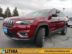 2019 Jeep Cherokee LIMITED 4X4 Sport Utility Helena, MT