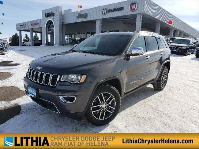 New 2018 Jeep Grand Cherokee LIMITED 4X4 Sport Utility Helena, MT