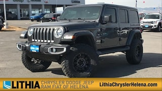 New 2021 Jeep Wrangler UNLIMITED SAHARA 4X4 Sport Utility For Sale in Helena, MT