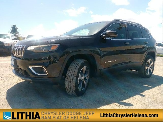 New 2019 Jeep Cherokee LIMITED 4X4 Sport Utility Helena, MT