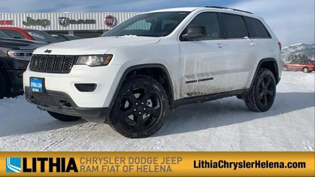 New 2019 Jeep Grand Cherokee UPLAND 4X4 Sport Utility Helena, MT
