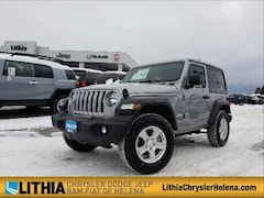 New 2019 Jeep Wrangler SPORT S 4X4 Sport Utility For Sale in Helena, MT