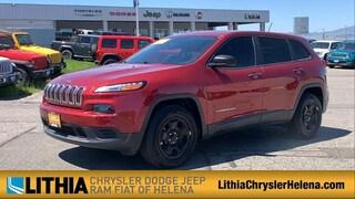 Used 2017 Jeep Cherokee Sport 4x4 SUV Helena, MT