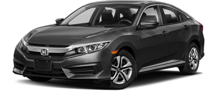 New 2018 Honda Civic LX FWD | CVT Automatic at Carbone Honda Bennington