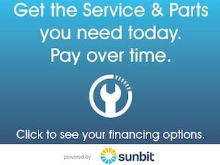 Flexible Payment Plans. Service & Parts Financing.
