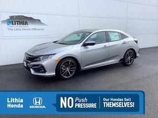 New 2021 Honda Civic Sport Hatchback Medford, OR