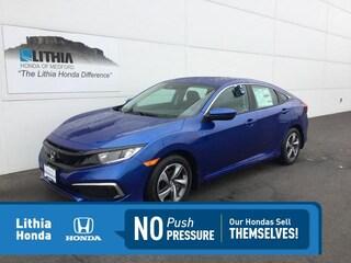 New 2021 Honda Civic LX Sedan Medford, OR