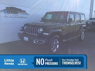 Used 2018 Jeep Wrangler Unlimited Sahara 4x4 SUV Medford, OR