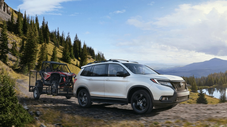honda passport towing medford