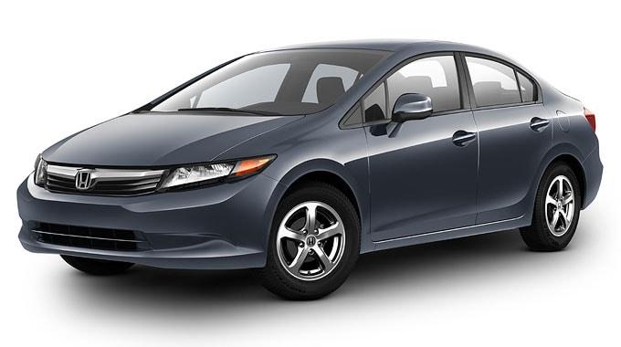 Honda Civic Natural Gas Named 2012 Green Car Of The Year