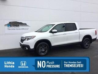 New 2020 Honda Ridgeline Sport Truck Crew Cab Medford, OR