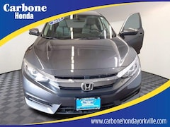 Used 2018 Honda Civic EX Sedan Yorkville NY