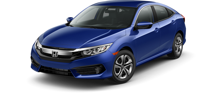New 2018 Honda Civic LX | FWD | CVT Automatic at Carbone Honda of Yorkville