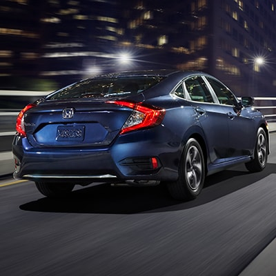 2019 Honda Civic Safety Options