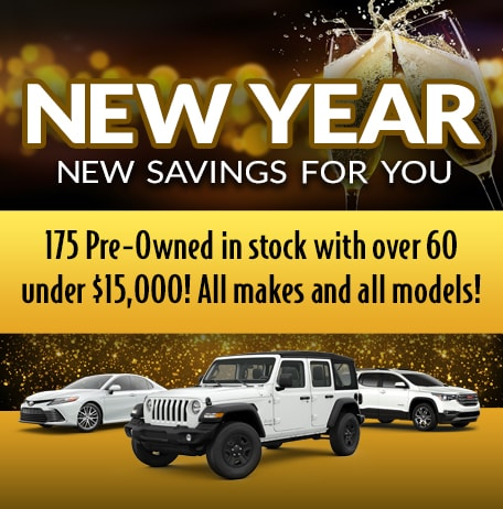 175 Pre-Owned in stock with over 60 under $15,000!