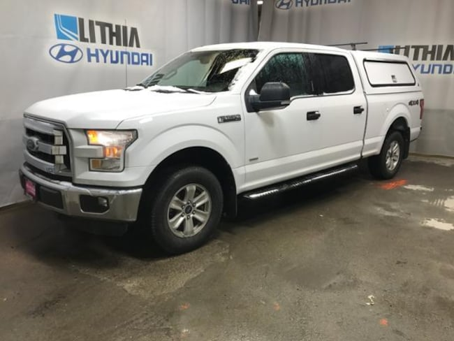Certified Pre-Owned 2015 Ford F-150 Truck SuperCrew Cab for sale in Anchorage AK