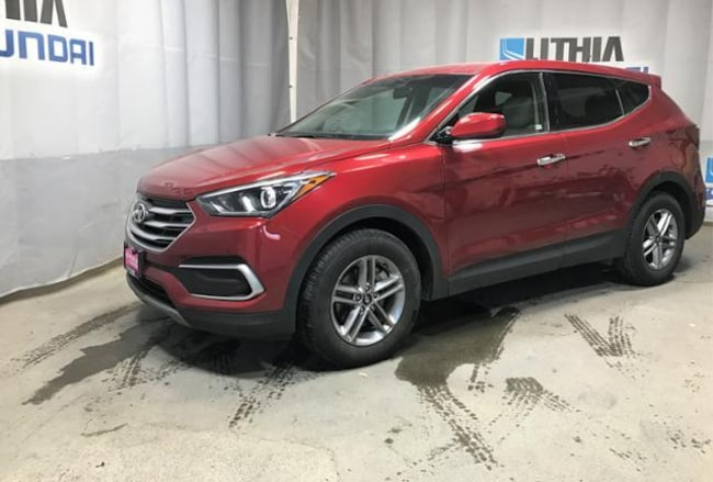 Certified Pre-Owned 2018 Hyundai Santa Fe Sport 2.4L SUV for sale in Anchorage AK