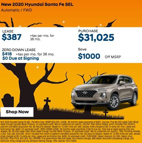 2020 Hyundai Santa Fe SEL SUV FWD