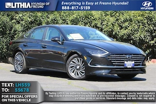 New 2021 Hyundai Sonata Hybrid Limited Sedan in Fresno, CA