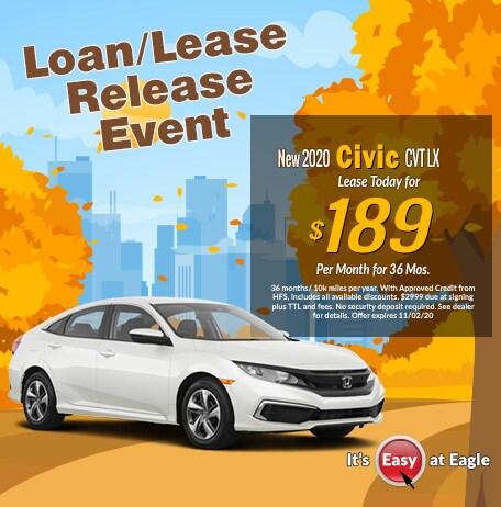 New 2020 Civic LX