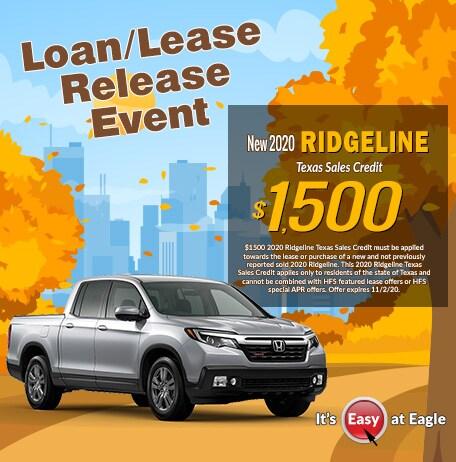New 2020 Honda Ridgeline