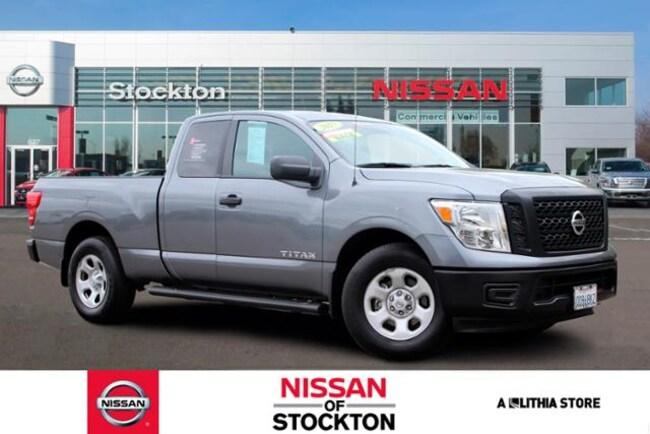 Used 2017 Nissan Titan 4x2 King Cab S Truck King Cab Stockon, CA