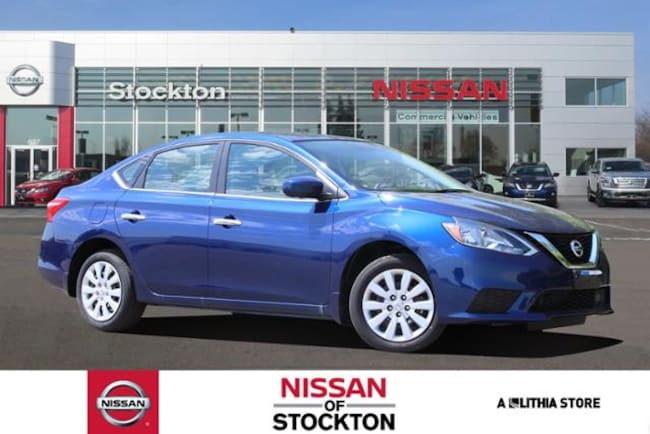 New 2019 Nissan Sentra S Sedan Stockton, CA