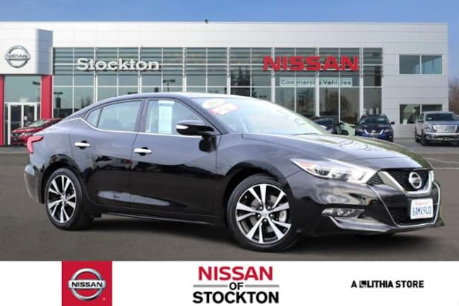 Used 2018 Nissan Maxima SL 3.5L Sedan Stockon, CA