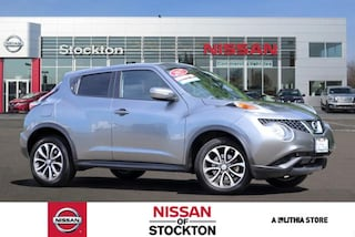 Certified Pre-Owned 2017 Nissan Juke FWD SV SUV Stockton, CA