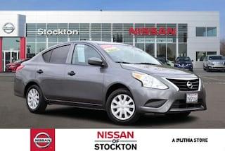 Used 2016 Nissan Versa 4dr Sdn Manual 1.6 S Sedan Stockton, CA