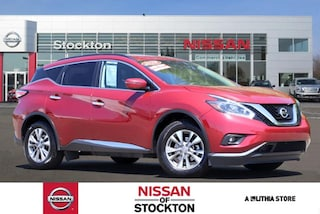 Certified Pre-Owned 2018 Nissan Murano AWD SV SUV Stockton, CA