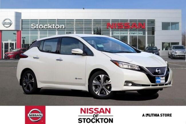 New 2019 Nissan LEAF SL Hatchback Stockton, CA
