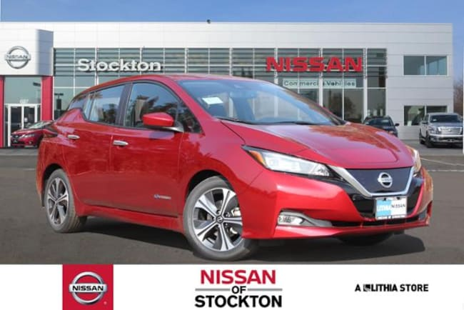 New 2019 Nissan LEAF SV Hatchback Stockton, CA