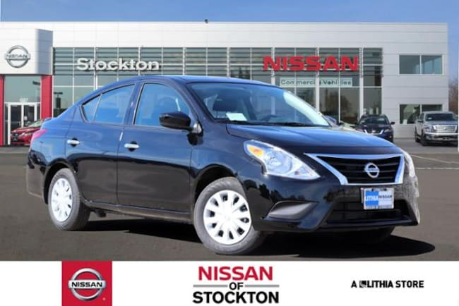 New 2019 Nissan Versa 1.6 SV Sedan Stockton, CA