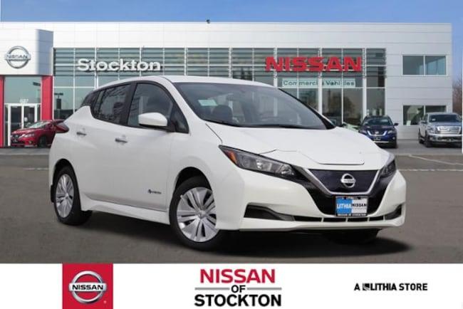 New 2019 Nissan LEAF S Hatchback Stockton, CA