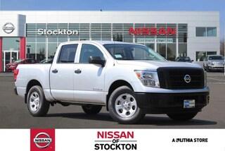 New 2018 Nissan Titan S Truck Crew Cab Stockton, CA