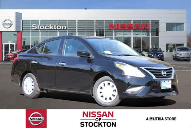 New 2019 Nissan Versa 1.6 SV Sedan Stockton, CA