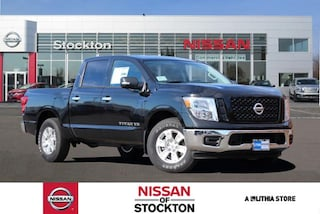 New Nissan 2019 Nissan Titan SV Truck Crew Cab in Stockton, CA