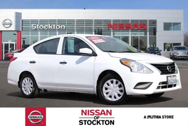 New 2019 Nissan Versa S Plus CVT Sedan Stockton, CA