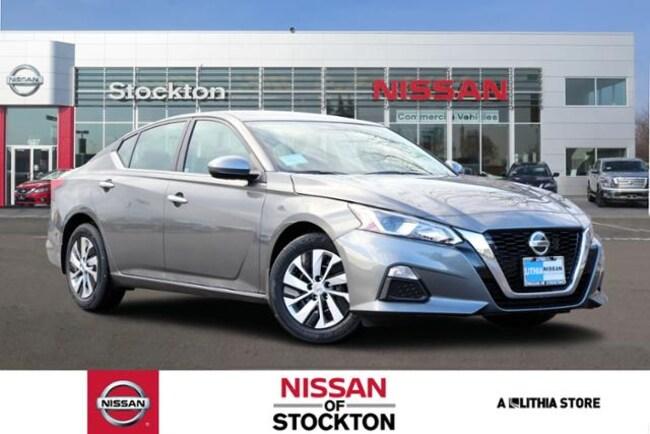 New 2019 Nissan Altima 2.5 S Sedan Stockton, CA