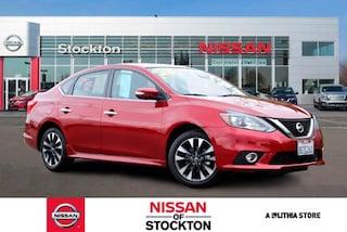 Certified Pre-Owned 2018 Nissan Sentra SR CVT Sedan Stockton, CA