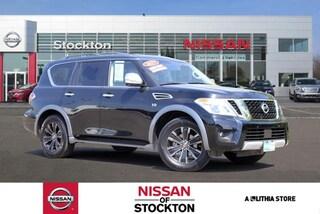 Certified Pre-Owned 2017 Nissan Armada 4x4 Platinum SUV Stockton, CA