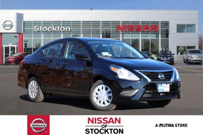 New 2019 Nissan Versa 1.6 S+ Sedan Stockton, CA